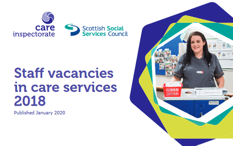 Report: Staff Vacancies In Care Services 2018 - Care Inspectorate & Scottish Social Services Council 1