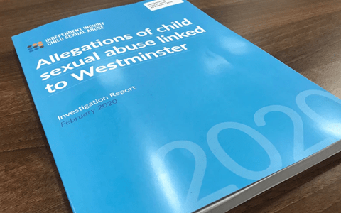 Report: Allegations of child sexual abuse linked to Westminster Investigation 2