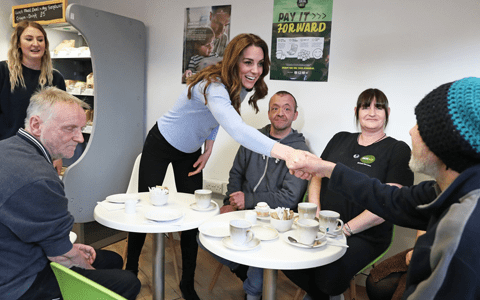 Duchess hails homelessness charity 'making a real difference' on visit to Aberdeen 1