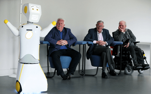 Irish university develops 'socially assistive' robot to combat loneliness in the elderly