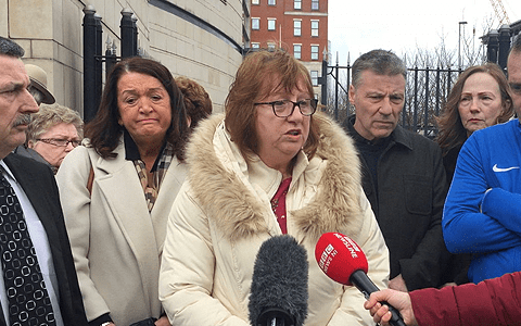 Bradley should hang head in shame and leave, says Ballymurphy victim's daughter