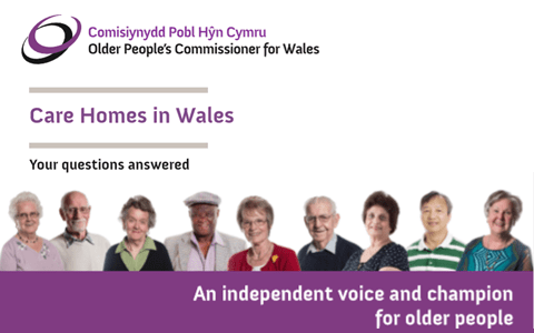 Older People's Commissioner publishes new guide on care homes in Wales