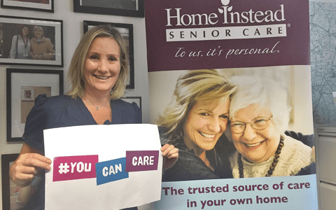 Minister helps launch home care company's latest recruitment campaign