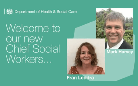 Government announce two appointments to role of Chief Social Worker for Adults