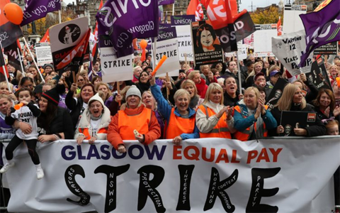 Glasgow councillors agree £500m compensation deal in equal pay row
