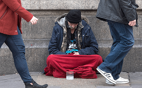 Rough sleeping in London branded 'catastrophic' after hitting record high