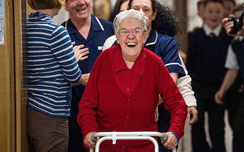 Resources: Care About Walking – Pack to help care home residents sit less and walk more
