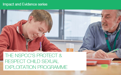 Resources: NSPCC Protect and Respect CSE programme – Key findings and evaluation