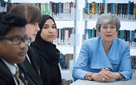 PM launches new prevention plan to improve mental health in young people