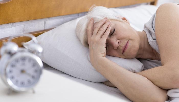 Atrial Fibrillation causes sleeping problem in senior