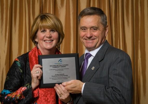 Winner - Jo-Ann Roberts, Threshold Housing Society