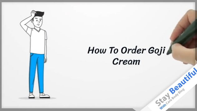 goji cream how to order