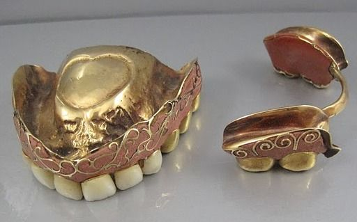 False teeth and dentures: A history | Care Denture Clinic