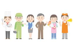 【平成30年版厚生労働白書】日本の1日「雇用について」
