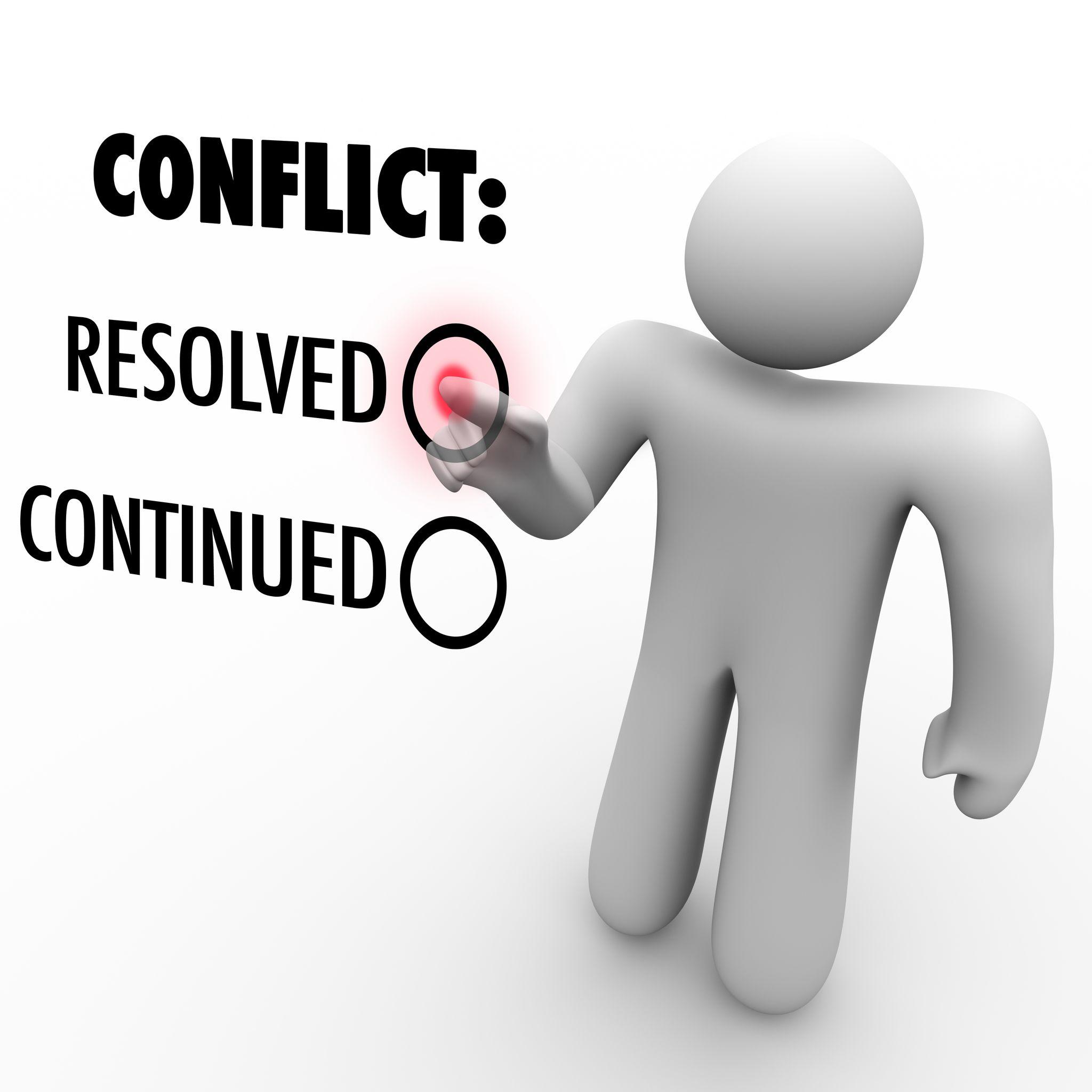 Conflict Resolution Zip It