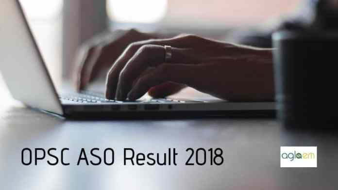 OPSC ASO Result 2018