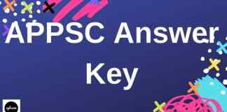 APPSC Answer Key Aglasem