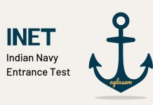 INET Indian Navy Entrance Test