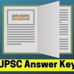 UPSC Answer Key