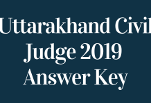 Uttarakhand-Civil-Judge-2019-Answer-Key-Aglasem