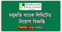 Modhumoti Bank Limited Job Circular Image