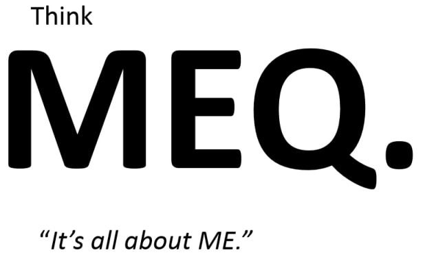 Think MEQ. Mission Effectiveness Quotient