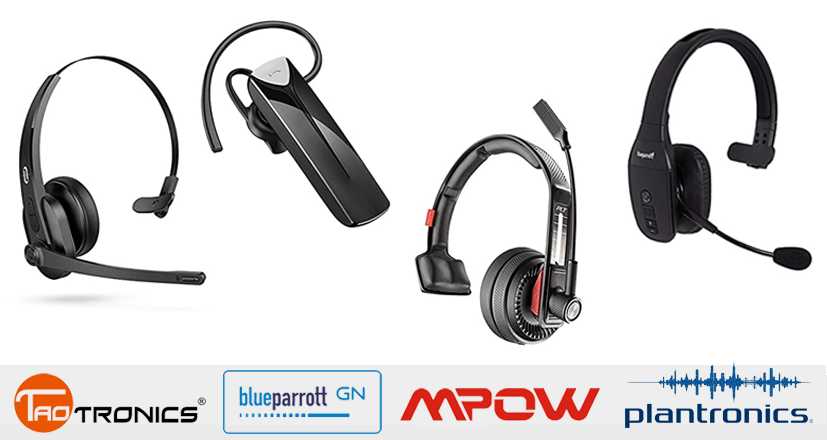 19 Best Bluetooth Headsets For Truckers