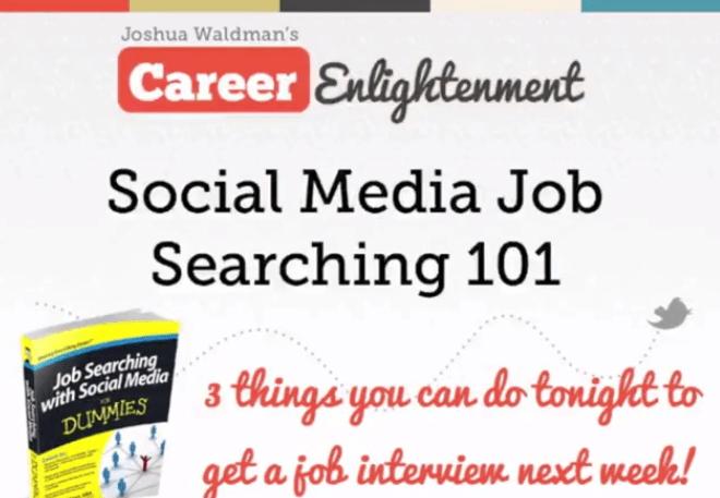 Social Media Job Searching 101