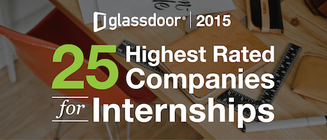 25 Highest Rated Companies for Internships