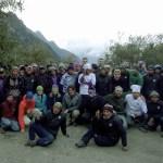 Inca Trail group Peru