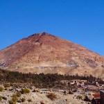 Cerro Rico, the 'mountain that eats men', in Potosí, Bolivia