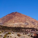 Cerro Rico, the 'mountain that eats men', in Potosí, Bolivia