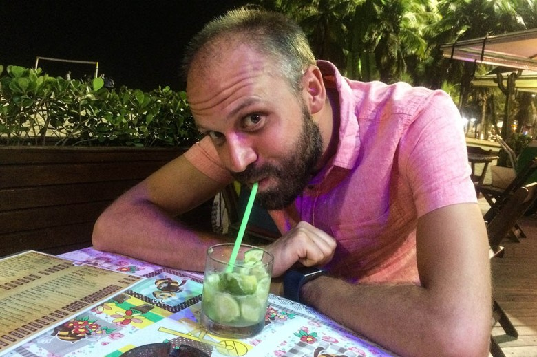 Of all the drinks in South America, the classic Brazilian caipirinha was our favourite