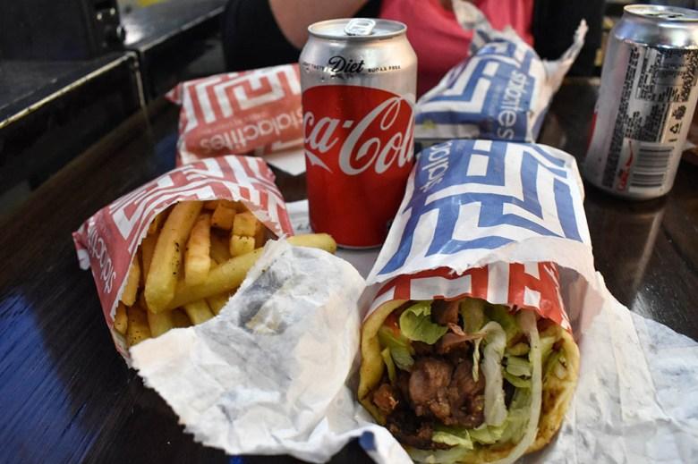 Melbourne food: Stalactites, CBD