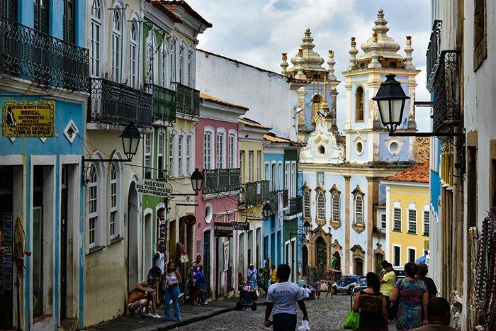 Pelourinho streets - Salvador - Brazil