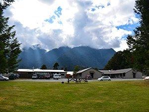 Top 10 Fox Glacier campsite