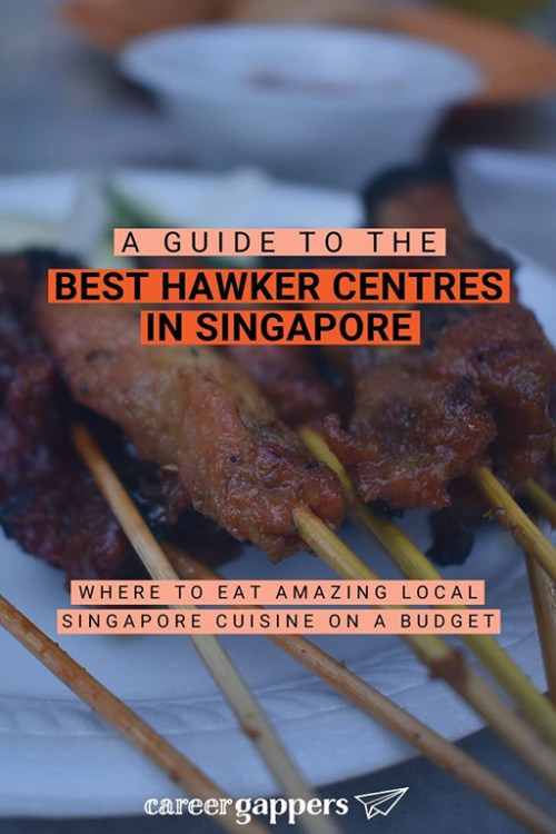 Singapore's legendary hawker centres are a great place to eat cheap local street food. This guide covers the best hawker centres in Singapore. #hawker #hawkerstalls #hawkercentres #singaporefood #singaporehawker