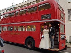 Alex and Lisa London wedding