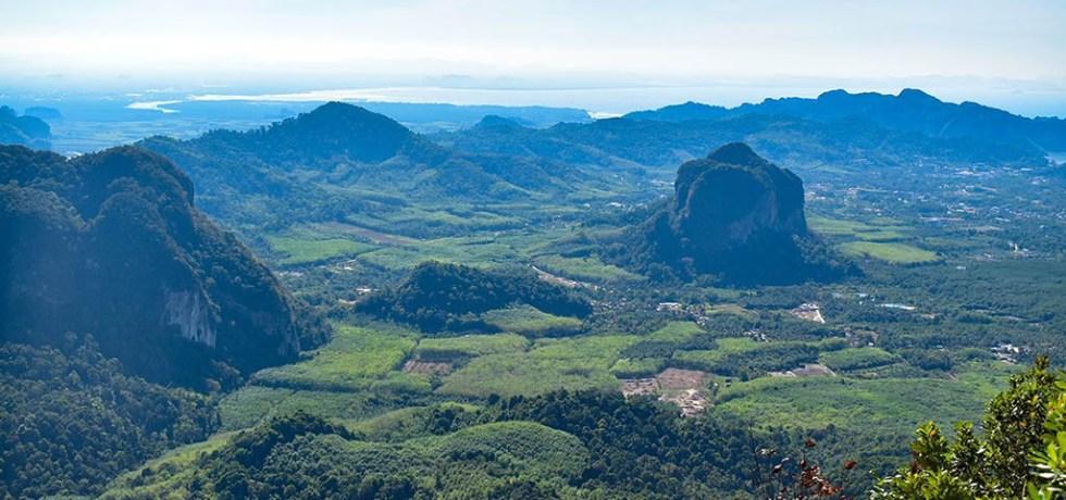 Dragon Crest Mountain trail views