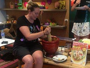 Thai cooking class Lisa