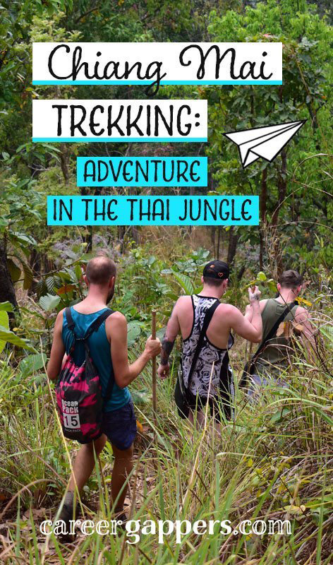 A tale of serene jungle, stunning sunsets, secluded waterfalls, isolated villages and plentiful beers. This was our two-day adventure trekking in Chiang Mai, northern Thailand.