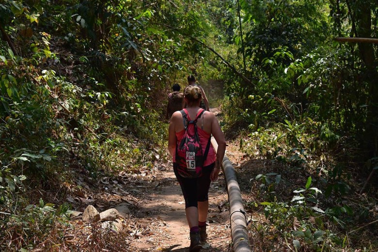 Chiang Mai trekking: on the final path