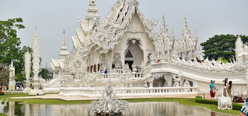 Wat Kong Rhun White Temple Chiang Rai Thailand