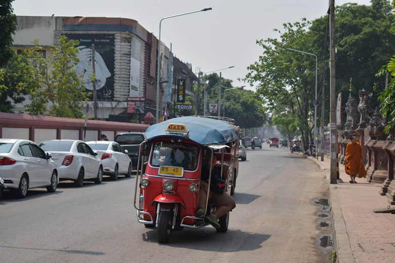 Thailand on a budget: it's easy to overpay for tuk-tuks if you don't know the correct fares
