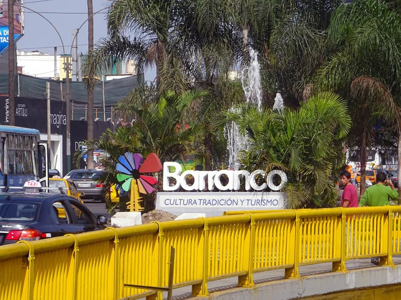 Barranco is one of the most popular districts in Lima for backpackers