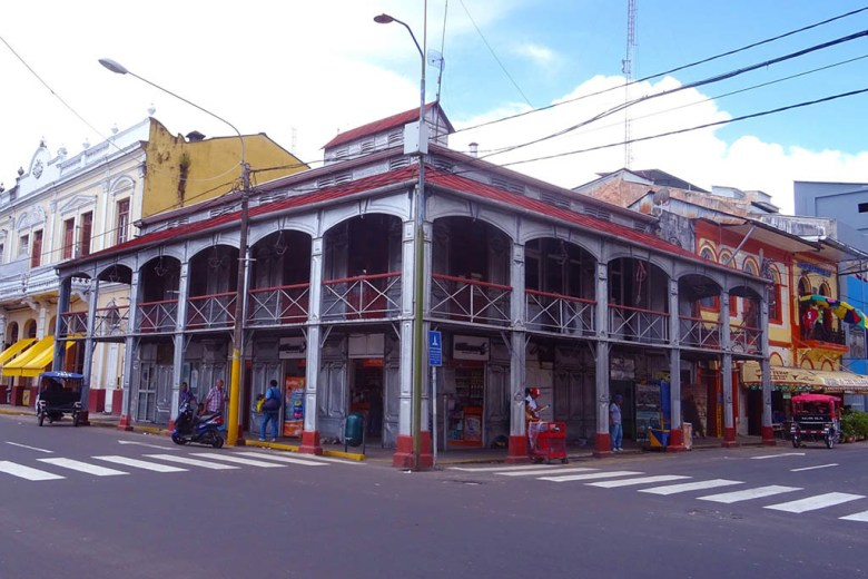 Casa de Fierro (Iron House), Iquitos