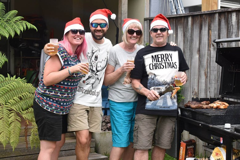Long-distance family: my parents gave us a family Christmas by coming out to see us in Sydney