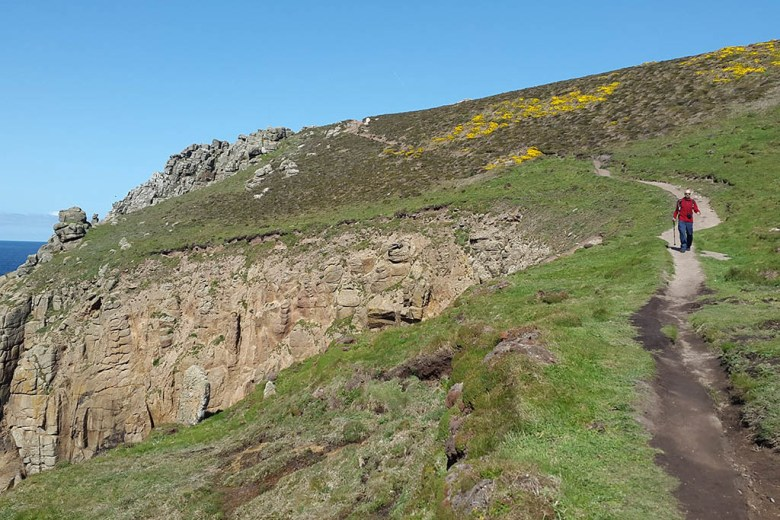 Training hikes: the South West Coastal Path, Cornwall, is one the most picturesque parts of the UK