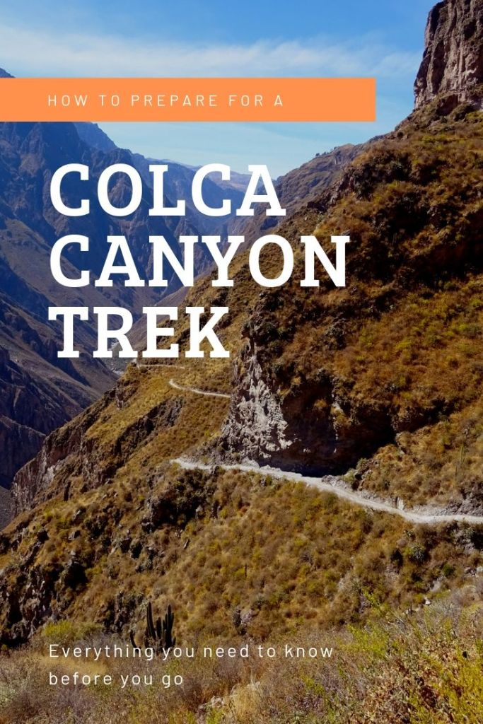 The Colca Canyon trek can be an amazing experience. We underestimated the difficulty and had a bad guide – this is how we would do it differently today. #colcacanyon #colcacanyontrek #arequipa #trekkingguides #perutrekking