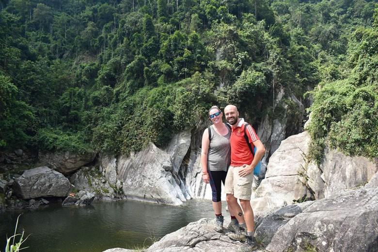 In Sapa, Vietnam, a week before the end of our career break travel adventure